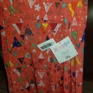 Lularoe Azure skirt 3xl